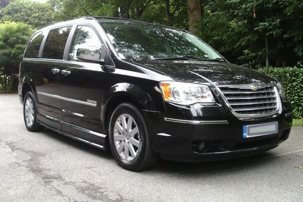 taxi chrysler grand voyager